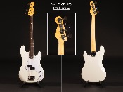 GUITARE BASSE VALLEY&BLUES PVB white