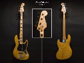 GUITARE BASSE VALLEY&BLUES JB4 swamp ash USA