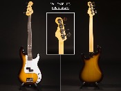 GUITARE BASSE VALLEY&BLUES PVB sunburst